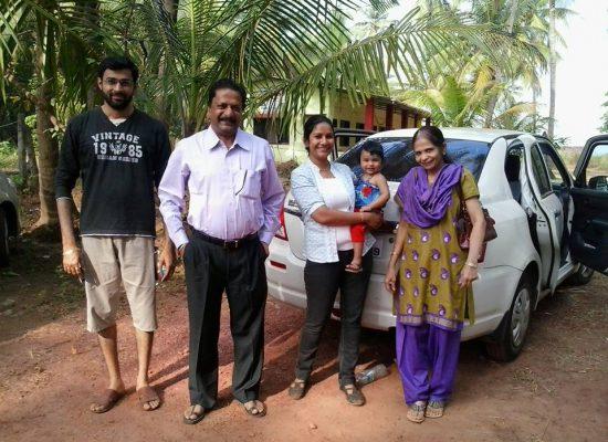 Mr. Jaywant Pawar & family, Pune