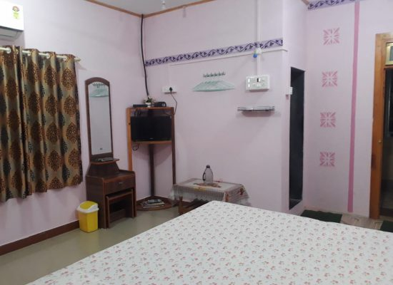 Room 1 with attached bathroom and AC